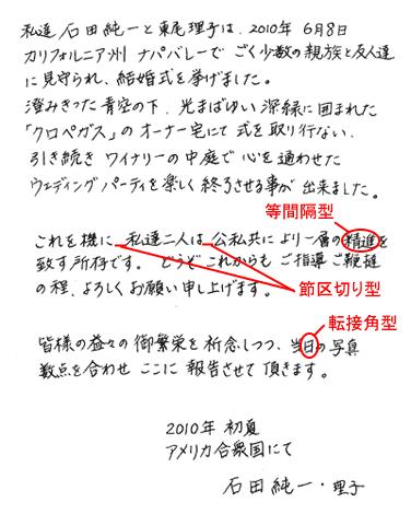 石田純一さんの筆跡診断