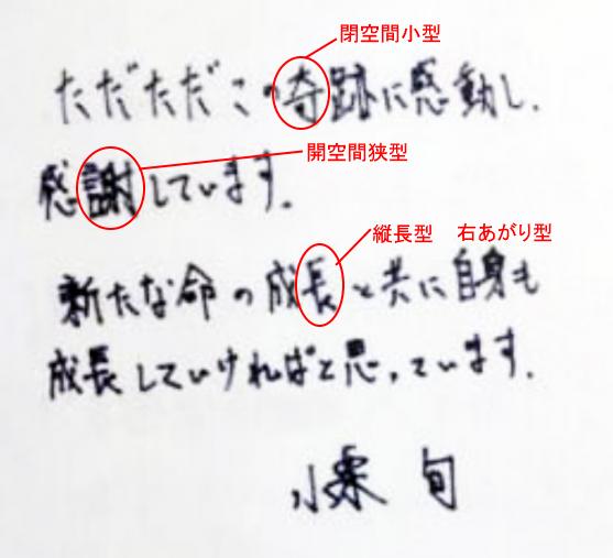 小栗旬さんの筆跡診断