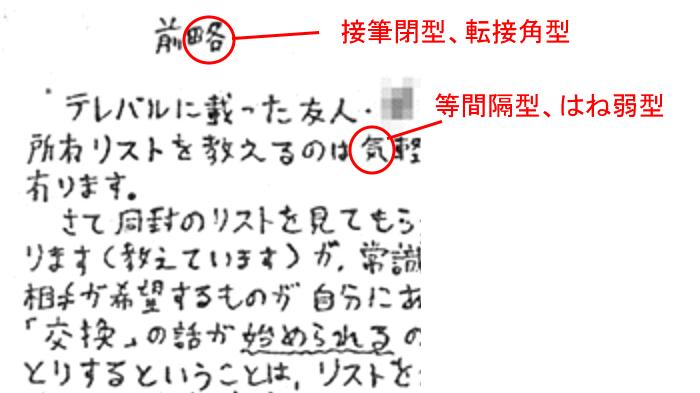 宮崎勤の筆跡診断